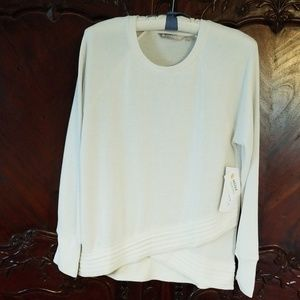 NWT Athleta  winter white sz S serenity sweatshirt